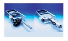 Model KD 04 - Sliding Gate for Conveyors