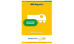 IMRO - Model RCSX D NEO - Eddy Current Separator Brochure