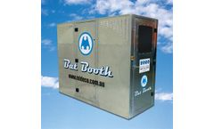 Mideco BatBooth - Personnel De-dusting Booth System