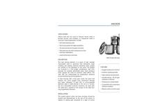 RocTest - Model ANCLO - Anchor Load Cell - Brochure