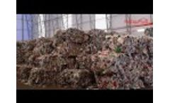 Recycling - Waste Treatment - Sorting Plant for 100.000 Tonnes of Residential Waste - Video