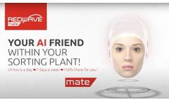 REDWAVE mate - Your Artificial Intelligent Support within your sorting plant!