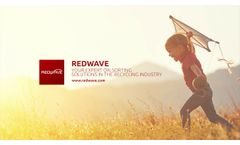 We Are REDWAVE - Passionate About Intelligent Sorting Technologies for Our Mother Earth - Video