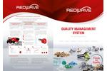 REDWAVE - Quality Management System (QMS) for Sorting Plants -Brochure