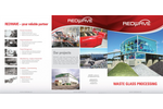 REDWAVE - Waste Glass Sorting Processing - Brochure