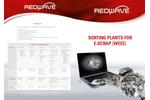 REDWAVE - Sorting Plants for E-Scrap (WEEE) - Brochure