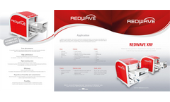REDWAVE - Model XRF - Material Recognition, Separation and Quality Control With X-Ray Fluorescence Spectrometer - Brochure