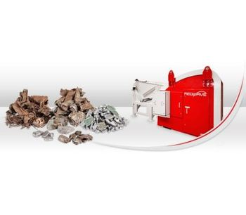 REDWAVE - Model C - Optical Metal Sorting Machine Capable of Recognising Colours