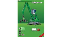 Sennebogen - Model 825 E - Electric Material Handler - Brochure