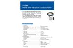 Model SV 150 - Tri-Axial Acceleromete Brochure