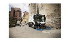 Johnston Sweepers - Model C401 - Mid-Sized Road Sweeper