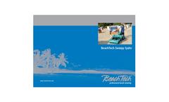 BeachTech - Model Sweepy - Hydro Beach Cleaner Brochure