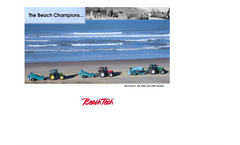 BeachTech - Model 3000 - Large Beach Cleaner Brochure