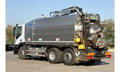 Longo - Triple-Axle Combined Sewage Cleaning Trucks