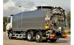 Longo - Triple-Axle Hazmat Combined Sewage Cleaning Trucks