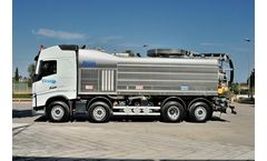 Longo - 4-Axle Hazmat Combined Sewage Cleaning Trucks