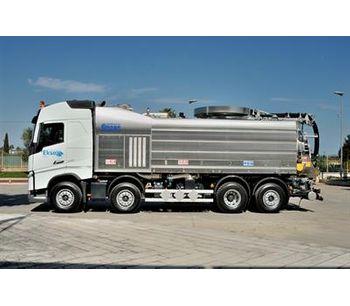 Longo - 4-Axle Hazmat Combined Sewage Cleaning Trucks