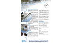 Kuhn - Model KSW-S/RW - Grit Washer Separator Machine - Datasheet