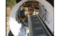 Tenbusch Custom Tunneling Conveyor - Video