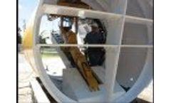 Tenbusch Custom Tunneling Excavator - Video