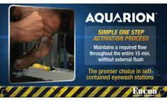 Encon® Aquarion® Self-Contained Portable Eyewash - Video