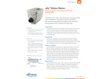Sensus Ally - Electromagnetic Flow Measurement Water Meters  Brochure
