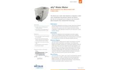 Sensus Ally - Electromagnetic Flow Measurement Water Meters  Brochure