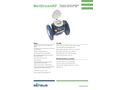 Sensus MeiStream - Model RF - Water Meter Brochure