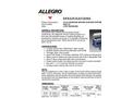 Allegro - High Performance Wide All Fit Belt Brochure
