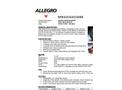 Allegro - 8 AC Axial Blower- Spec Sheet