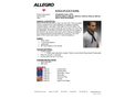 Allegro - Cool Offs Product  Brochure