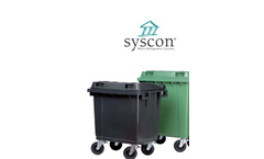 4-Wheel Mobile Garbage Bins-MGB 400L / MGB 500L