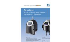 AquaScat - Model 2 HT - On-Line Turbidimeter - Brochure