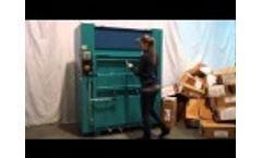 Ballenpresse - baling press APV 100/160 - Video