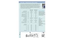 Channel Presses - APK - D Technical Data Vertical (PDF 106 KB)