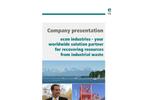 Econ Industries Company Profile - Brochure
