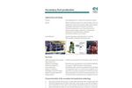 Secondary Fuel Production - Datasheet