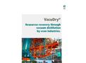 VacuDry - Vacuum Distillation Process - Brochure