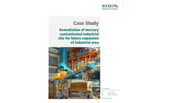 Remediation of Mercury Contaminated Site - Case Study