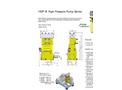 Hammelmann HDP 10 High Pressure Pumps - Brochure