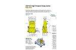 Hammelmann HDP 20 High Pressure Pumps - Brochure