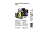 Aquajet - 07 Series - Diesel Driven High Pressure Pump Units Brochure