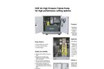 HDP 44 - High Pressure Triplex Pump For High Performance Cutting Systems
