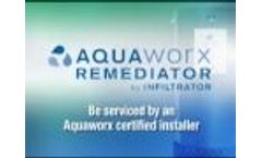 Septic Tank Aquaworx Remediator by Infiltrator Installation Video