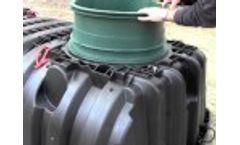 Installing a Septic Tank Riser on an Infiltrator Tank Video