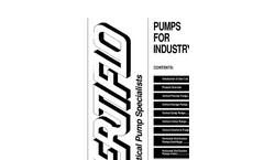 Industrial Trash Handling & Solids Handling Self-Priming Centrifugal Pumps Brochure