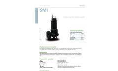 Zenit - SMI - Single-Channel Closed Impeller for Submersible Pump Datasheet