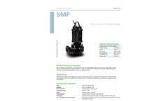 Zenit - SMP - Single-Channel Closed Impeller for Submersible Pump Datasheet