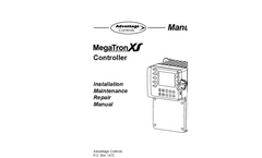 MegaTron - Model XS - Industrial Water Monitoring System Manual