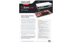 ZumLink - Model Z9 - IQ Edge Intelligent Radio - Brochure